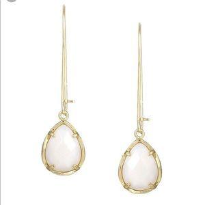 Kendra Scott Dee Earrings in White Pearl